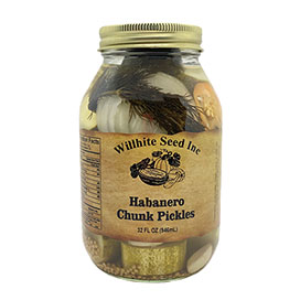 Habanero Pickle Chunks (32 ounce jar)