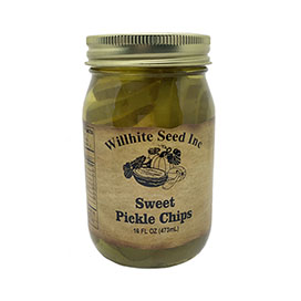 Sweet Pickle Chips (16 ounce jar)