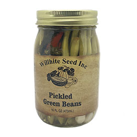 Pickled Green Beans (16 ounce jar)