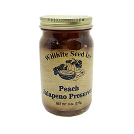 Peach Jalapeno Preserves (8 ounce jar)
