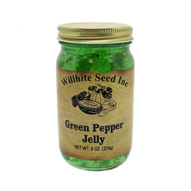Green Pepper Jelly (8 ounce jar)