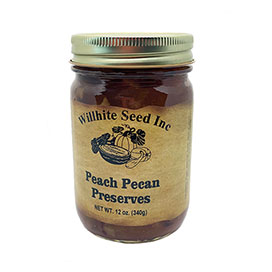 Peach Pecan Preserves (12 ounce jar)