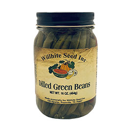 Dilled Green Beans (16 ounce jar)
